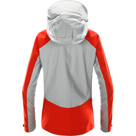 Haglöfs Kabi K2 Jacket Dam stone grey/pop red